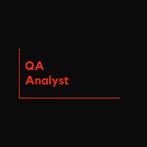 QA Analyst