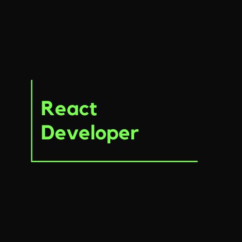 React Developer